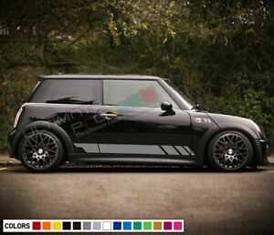Sticker Decal Side Door Stripe Body Kit for Mini Cooper S Hatch Handle Cover Set