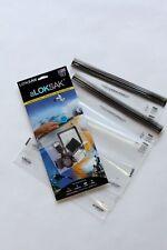 2 Aloksak 12x12 Double Zipper Waterproof Sandproof Airtight Pouch Bags LOKSAK