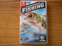 Legendary Fishing - Nintendo Switch VERY GOOD CONDITION FREE SHIPPING