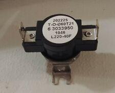 Genuine Whirlpool Maytag Dryer Thermostat 3033950 6 3033950 63033950