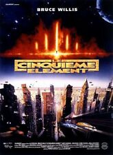 LE CINQUIEME ELEMENT Affiche Cinéma Originale 53x40 Movie Poster Luc Besson