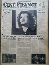 EXTREMELY RARE CINE FRANCE THE JOURNAL OF 1937 N 24 KATHARINE SPECTATORS HEPBURN