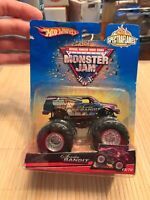 "Hot Wheels Monster Jam ""SCARLET BANDIT SPECTRAFLAMES"" 1:64 15/70 Truck"