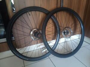 Alexrims 700c Disc Road Gravel Wheelset (Thru Axle/QR)
