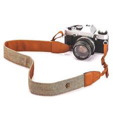 Kameragurt Schultergurt Echtes Leder für Kamera Braun Retro Shoulder Strap