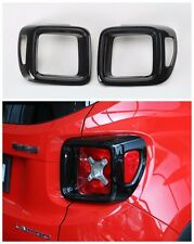 ABS Taillight Lamp Cover Trim Frame  for Jeep Renegade 2015 2016 2017 2pcs-Black