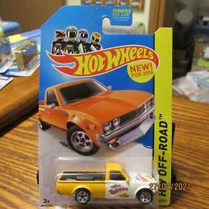 HOT WHEELS Datsun 620 Pickup  CUSTOM (Hostess Twinkies) from 2014 HW Off-Road