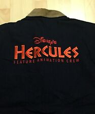 "Vintage 1997 Disney'S ""Hercules"" Feature Animation Cast Crew Jacket"