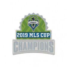 2019 MLS Champions Seattle Sounders Lapel Pin