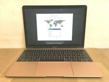 ⭐ Apple MacBook 12-Inch Core m3 1.2GHz 8GB 256GB Mid 2017 2018  MRQN2LL/A Gold ✅