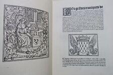 Bouchart  Les grandes chroniques de Bretaigne composées en l'an 1514