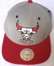 CHICAGO BULLS NBA MITCHELL & NESS VINTAGE 2-TONE SNAPBACK RETRO CAP HAT NEW!