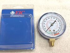 "R134a, FJC, Low-Side, Gauge -30"" VAC to 0 to 350 PSI #6136 A/C Refrigeration"