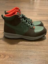 "Nike Manoa ACG Boots ""ARMY OLIVE"" Mens Boot Sz 10 HIKING Winter Sneakerboot NEW"