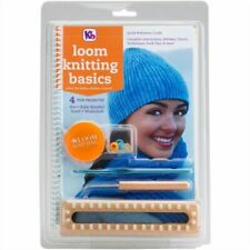 KB Knitting Board Loom Basics Kit With Easy How to Instruction Book