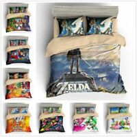Super Mario 3D World / Mario Odyssey Bedding Set Duvet Cover Pillowcase