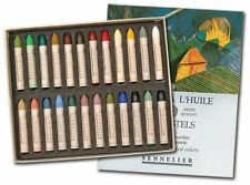 Sennelier Oil Pastels Cardboard Box Set of 24 Standard - Assorted Colors