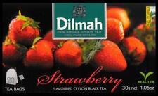 Dilmah Tee-Strawberry flavoured black Ceylon Tea 20 bustina del tè