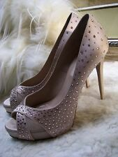 Valentino Crystal-Covered Satin Pump Shoes Size 37 $895