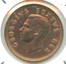 South Africa 1 penny King George VI 1952