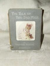 RARE 1904 THE TALE OF TWO BAD MICE Beatrix Potter 1st American Edition Warne