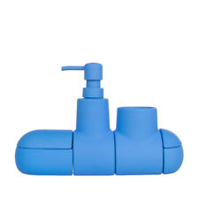 SELETTI SUBMARINO Collection Bathroom Accessory Set Blue Magnetic Porcelain