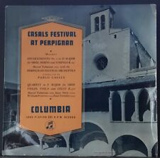 COLUMBIA 3CX 1090 ED 1 UK CASALS FESTIVAL AT PERPIGNAN MOZART DIVERTIMENTO
