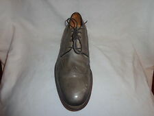 MAGNANNI SINGLE AMPUTEE GRAY LEATHER OXFORD RIGHT FOOT SHOE MENS 9.5 M