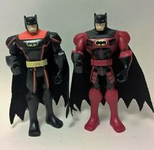 Lot 2,Batman Brave and the Bold action figures.DC Comic.Mattel.From Tank & Cycle