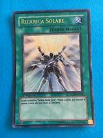 RICARICA SOLARE  Ultra Rara in Italiano EXC BLLR-IT045 YUGIOH