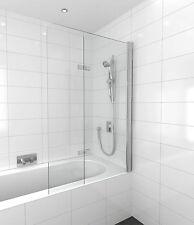 Shower Screen Duo Swing Over Bath Panel 1000mm