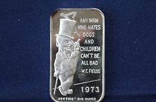 1973 CEECO W. C. Fields Silver Art Bar P0801