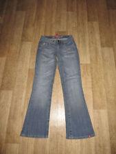 Esprit Damen-Bootcut-Jeans mit niedriger Bundhöhe (en) Normalgröße edc by