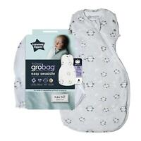 Tommee Tippee Grobag Newborn Snuggle Baby Sleep Bag, 0-4m, 1.0 Tog, Little Ollie