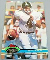 1991 Stadium Club Football Brett Favre #94 RC Rookie FALCONS - HOF!! NM!!