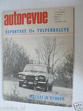 AUTOREVUE 1969-10,21E TULPENRALLYE SPECIAL,LENNEP,SAAB 99,GP SPAIN F1,MONZA 1000