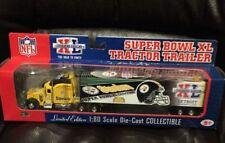 PITTSBURGH STEELERS-----SUPER BOWL XL TRACTOR TRAILER----UPPER DECK--1/80---MIB