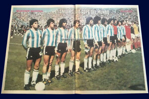 MARADONA FIRST GOAL 1979 - SCOTLAND (1) vs ARGENTINA (3) - Poster ARGENTINA TEAM