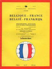 Dec 64 BELGIUM v FRANCE