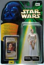 Star Wars POTF2 Flash Back Princess Leia Figure - Carded (1998) Euro Card