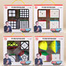 QiYi 2x2 3x3 4x4 5x5 Magic Cube Set Speed Magic Cube Puzzle Xmas Toy Stickerless