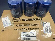 OEM Factory Subaru Engine Oil Filter & Crush Gasket (3 Pack) 15208AA15A Geniuine