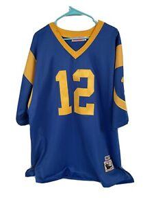 Mitchell And Ness M&N Joe Namath Authentic LA Rams Jersey 54(xxl)