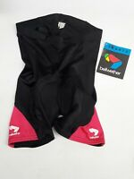 Vtg USA Bellwether Sports Cycling Shorts Sz S Womens Black Pink Pockets Padded