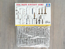 USAF/NATO AIRCRAFT ARMAMENT  ITALERI RARE 1/72