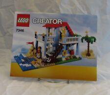 #7346 Lego Creator Instruction Booklet