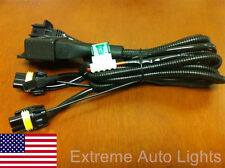 H13 9008 High low HID Bi-Xenon Relay Harness Wiring