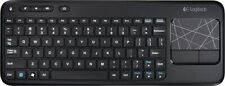 Logitech - K400 Wireless Keyboard - Black