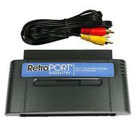 NES to SNES Game Retroport Converter Adapter Cartridge for Super Nintendo SNES