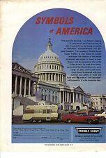 Original 1971 Mobile Scout Travel Trailer Magazine Ad
